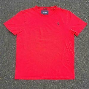 Vintage Ferrari Motors Women's T-Shirt - Size: L